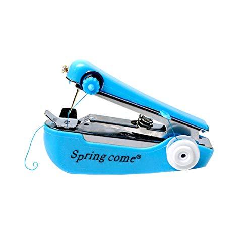 Kongqiabona-UK Máquina de Coser Manual Mini máquina de Coser Costura Creativa Costura máquina de reparación portátil rápida actualización Multicolor