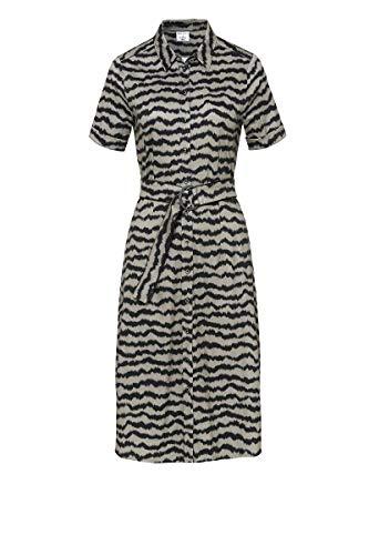 DeSoto Damen Kleid Kim Kurzarm mit Animalprint Zebra, Größe:40, Farbe:Khaki Zebra Print(840)
