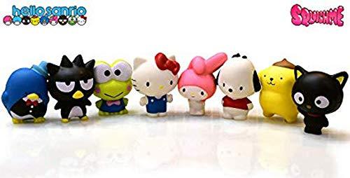 Squishme Just Toys Hello Kitty Sanrio Set of 8