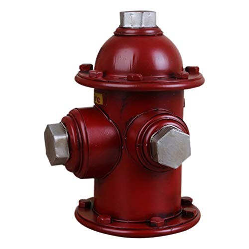 Yardwe Fire Hydrant Statue Fire Hydrant Pee Post for Training Dog Home Garden Lawn Yard Outdoor Sculptures Decorations