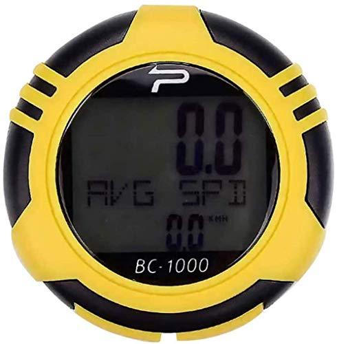 WYJW Computadora de Bicicleta sólida Velocímetro de Bicicleta Cuentakilómetros de Bicicleta Computadora...
