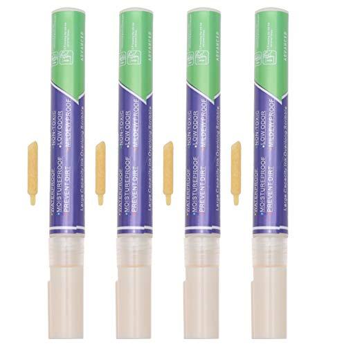 DOITOOL 4 rotuladores para reparación de lechada, color bei
