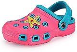 zuecos niños verano niña Sandalias Zapatos de jardín Antideslizante piscina Sandalias de Playa,Estrellas,27 EU