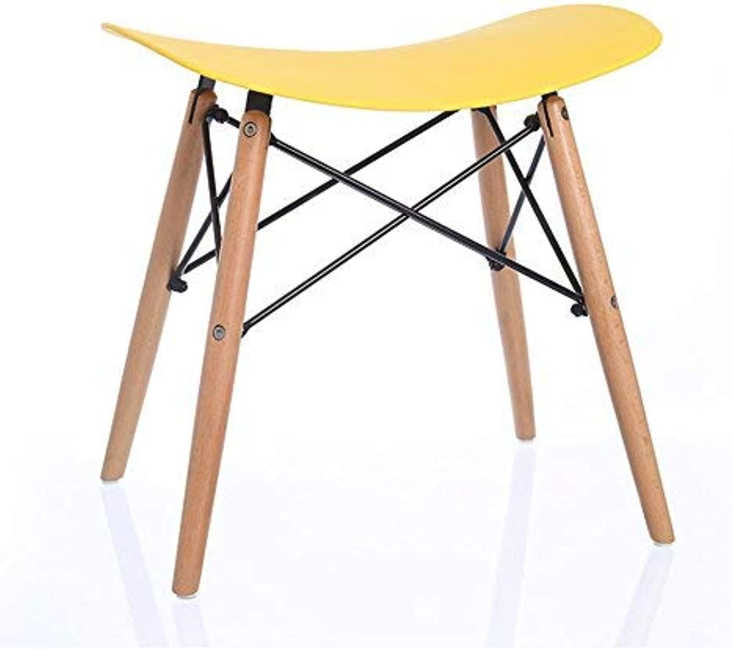 CWJ Chair Stool - Plastic Chair shoes shoes Restaurant Living Room Chair Bar Coffee Shop Flower Shop Chair Can Not redate Create Chair Adult Home Stool