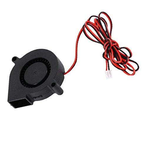 balikha Ventilador Ventilador Ventilador Cable Silencioso DC 12V 50 * 50 *