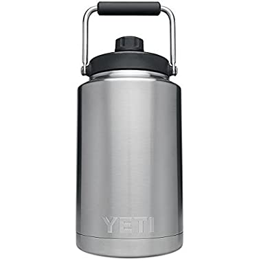 YETI Rambler Vacuum Insulated Stainless Steel One Gallon Jug with MagCap