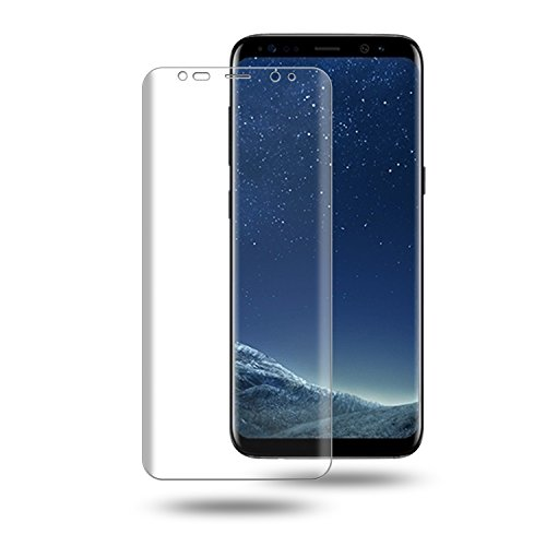 Galaxy S8 Plus Screen Protector, Cabras [2-PACK] [Full-Cover] [Bubble-Free] [Case-Friendly] HD...