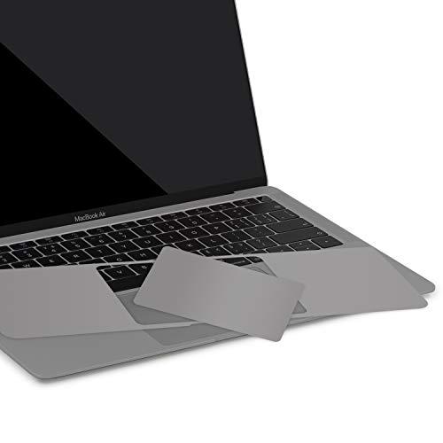 lention Palm Rest Cover Hautkompatibel 2018 2019 MacBook Air (13 Zoll, mit Thunderbolt 3 Ports, Modell A1932, Vinyl-Schutzaufkleber mit Trackpad-Schutz (Weltraum grau)