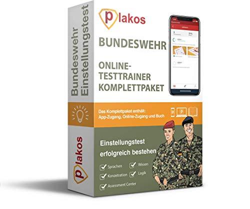 Bundeswehr Einstellungstest 2021 Online-Testtrainer MIT BUCH | Eignungstest erfolgreich bestehen | 2500 Aufgaben mit Lösungen: Erfahrungsbericht, Sport, Computertest, Mathe, Allgemeinwissen