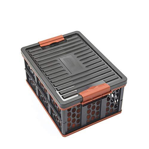 QNMM Boîte de Rangement Pliable pour Voiture Boîte de Rangement Pliante pour Camping Boîte de Rangement multifonctionnelle idéale pour Les SUV, Les Voyages et Les Camps