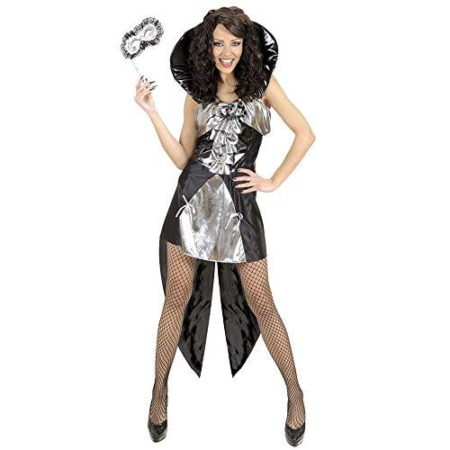 Widmann Kostüm Gothic Queen, silber, GröÃ?e L