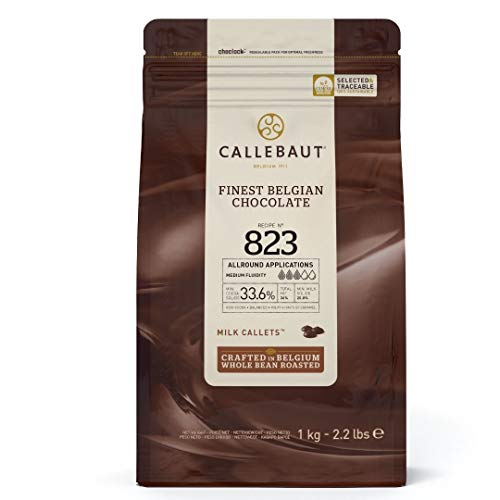 Callebaut No 823 Finest Belgian Milk Chocolate Callets Couverture...