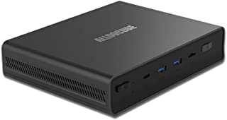 ALLDOCUBE WinBoxミニPC 小型PC 4GBメモリー 128GB SSD Celeron N4100 プロセッサー Windows10 高速Wi-Fi/BT4.2/Type-C/USB 3.0搭載 ファンなし 静音 Mini PC