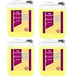 Cleanerist - Detergente líquido premium con aroma de vainilla, 4 x 5 litros, hasta 440 lavados, color blanco y negro