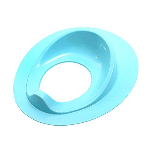 JUNGEN Siège De Toilette pour Bébé Cuvette de Toilette pour Enfant Réducteurs de Toilettes Siège Pot de Portable pour Bébés Bleu 38.5 * 32.8 * 8.5CM