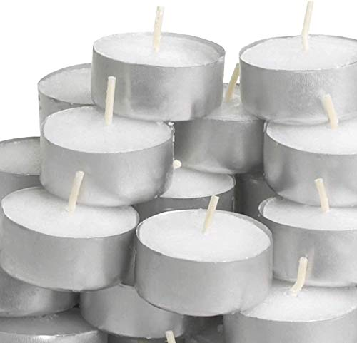 Ikea TILLVARO - Velas de té (200 unidades), color blanco, color blanco Set Of 400
