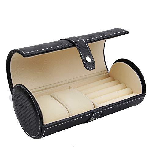 Executive High class Cufflink Case & Ring Storage Organizer Men's Jewelry Box Gift (Crow) by decorebay