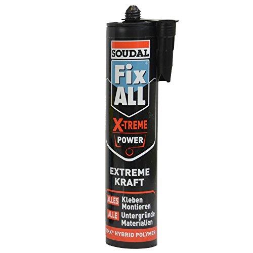 Soudal Montagekleber Fix ALL X-treme Power schwarz 415 g/290 ml