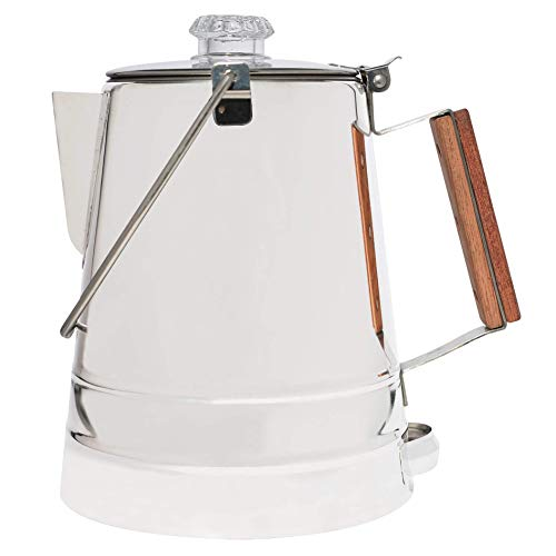 COLETTI Butte Camping Coffee Pot | Campfire Coffee Pot | Stainless...