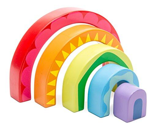 Le Toy Van Rainbow Tunnel Toy