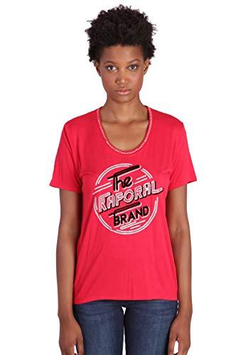 KAPORAL Week T-Shirt, Rouge Tango, M Donna