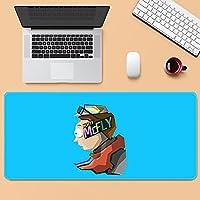Rick and Morty マウスパッド 超大型 防水 ゲーミング マウスパッド 90*40cm キーボードパッド 滑り止めゴム底 滑り止め マウス対応 耐洗い表面 快適操作性