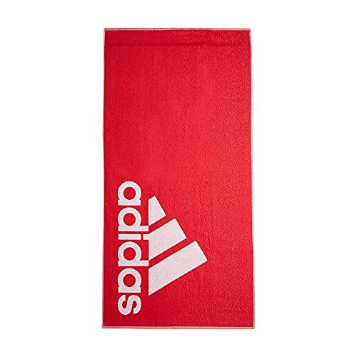 0AFIT|#Adidas Adidas Towel L, Telo Mare Unisex – Adulto, Collegiate Red, NS