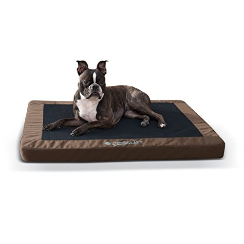 K&H Pet Products Comfy N' Dry Indoor-Outdoor Waterproof Orthopedic Pet Beds