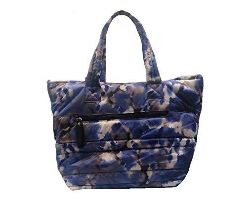Sondra Roberts Nylon Tote Bag, Blue Multi