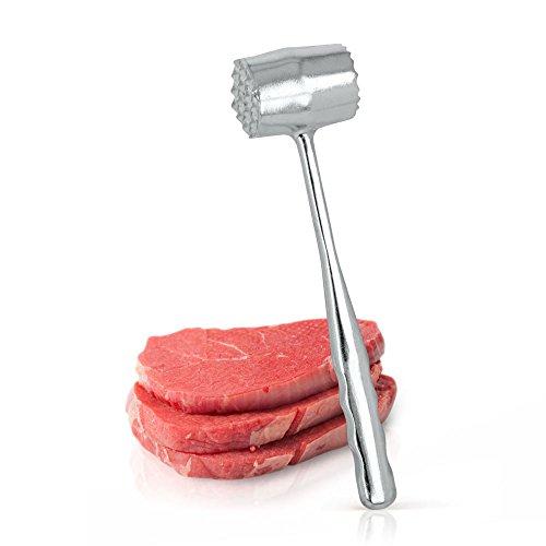 Metaltex 255900010 - Mazo para Carne de Aluminio Fundido, 21 centímetros