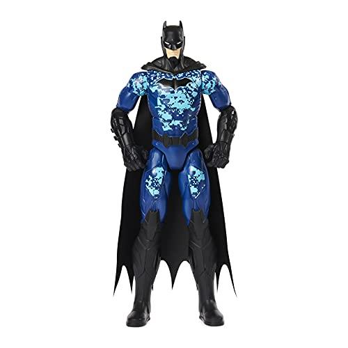 DC Comics Batman 12-inch Bat-Tech Tactical Action Figure (Blue Suit), for Kids Aged 3 and up