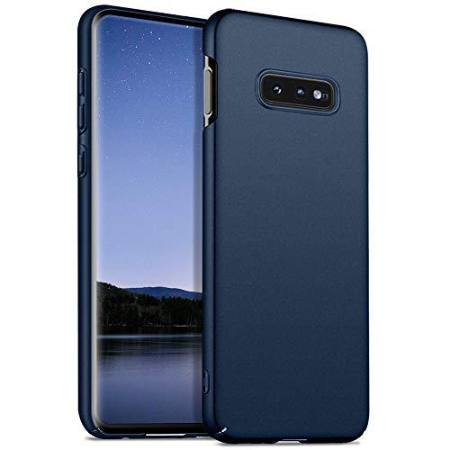 Meidom Ultra Dünn Kompatibel mit Samsung Galaxy S10e Hülle Hochwertigem Handyhülle [Anti-Fingerabdruck] PC Bumper Schutzhülle für Samsung Galaxy S10e (5,8 Zoll) - Matt Blau