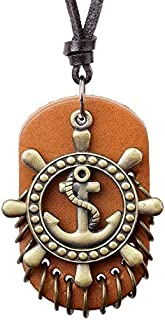 Men's necklace One Piece Anime Action Figure Cosplay Monkey D Luffy Cute Cartoon Doll One Piece Necklace Mens Jewelry