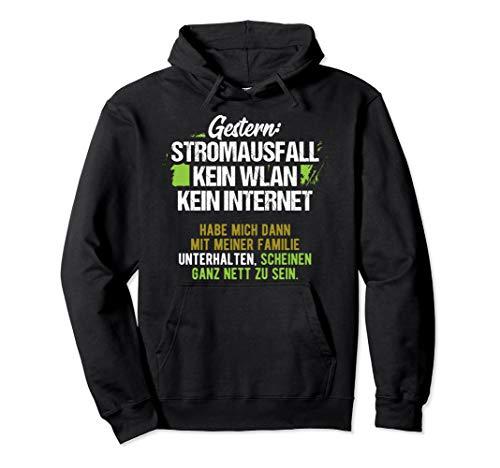 Nerd, Geek, Gaming, Informatiker, WLAN Motiv-Sprüche Pullover Hoodie