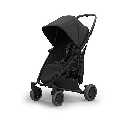 Quinny Zapp Flex Plus Stroller, Black on Black