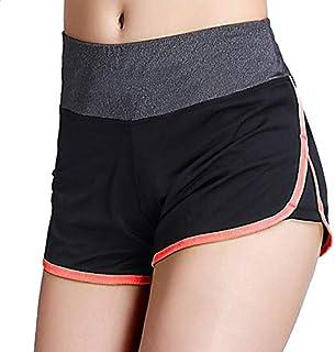 Women Sports Shorts Gym Workout Waistband ny Yoga Shorts Summer Jogging Trouser:O, S