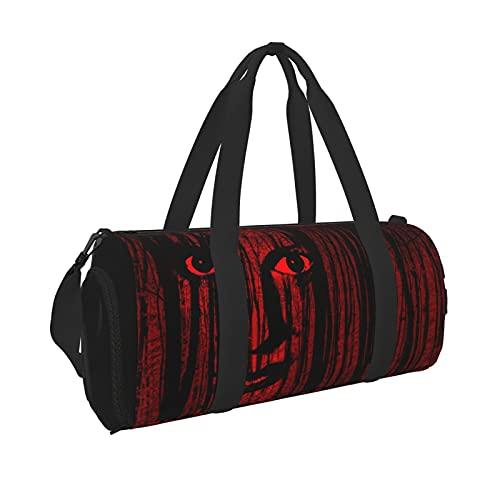 Bolsa de viaje portátil de gran capacidad para Halloween, ideal para hombres y mujeres