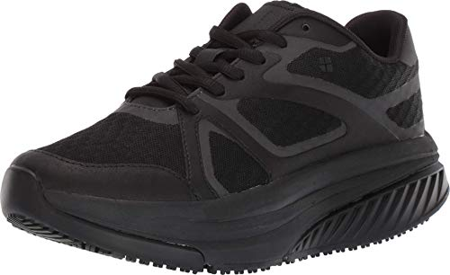 Shoes for Crews Womens Energy II Sneaker, Black,11