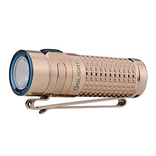 OLIGHT(オーライト) S1R BATON II限定版 チタン/Ti ハンディライト クリスマス 1000ルーメン 充電式 フラッ...