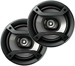Pioneer TS-165P 6.5in Coaxial 2 Way Car Audio 4 Ohm Full Range Speakers Pair TS165P (Renewed)