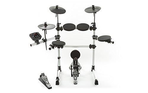 ION Audio Sound Session Drums III Elektronisches Drum Kit mit 108 Schlagzeug-, Becken- und Percussion-Sounds und 40 Begleitsongs - inkl. Drumsticks