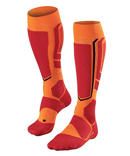 FALKE Herren SB2 M KH Snowboard-Socken, Orange, 46-48 (UK 11-12.5 Ι US 12.5-13.5)