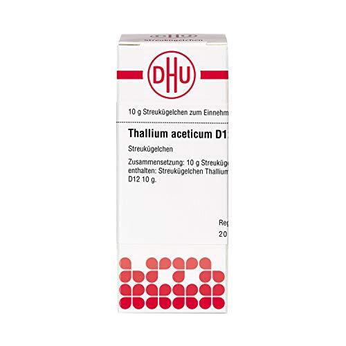 DHU Thallium aceticum D12 Streukügelchen, 10 g Globuli