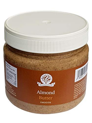 Nutural World - Mantequilla suave de almendra (1kg) - *** nuevo envase ***