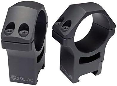 XLR Precision Riflescope Rings 34 Ranking TOP4 Profile High quality mm Blac 1.46in