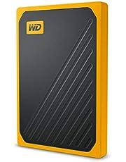WD My Passport Go 500GB 400MB/s USB 3.0 Sarı Taşınabilir SSD - WDBMCG5000AYT-WESN
