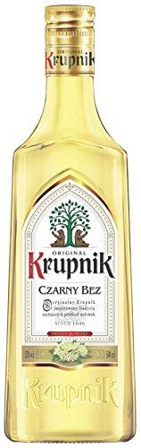 Krupnik Czarny Bez | Krupnik Holunder | Sammlerstück | Polnischer Geschmackswodka/Likör | 32%, 0,5 Liter