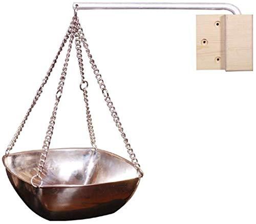 Preisvergleich Produktbild Sauna Kupferschale Kräuterschale Sauna Zubehör,  Edelstahl Sauna Schüssel Sauna Aromatherapie Öl Schalen Ätherisches Öl Duft Diffusor Für Sauna Und Spa, sauna Zubehör (Quadrat 200ML (zufällige Farbe))