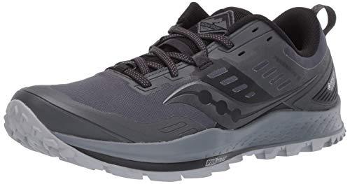 Saucony Peregrine 10 GTX Schuhe Damen Grey/Black Schuhgröße US 9 | EU 40,5 2020 Laufsport Schuhe