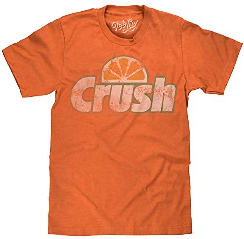 Tee Luv Orange Crush Soda Logo T-Shirt (S)
